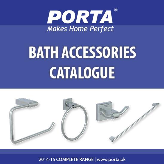 Porta Bath Accessories Catalogue