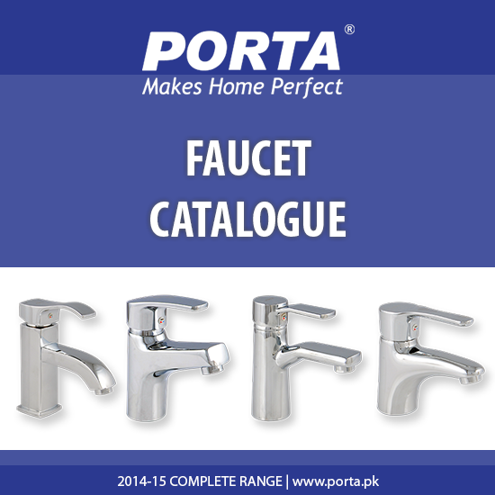 Porta Faucet Catalogue