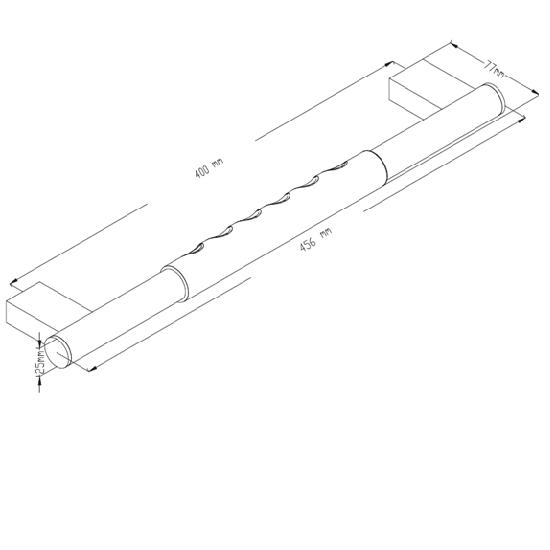 Porta Sanitary Ware - HD95 Grip Bar
