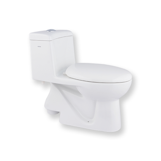 Porta Sanitary Ware - HD100N One Piece Toilet
