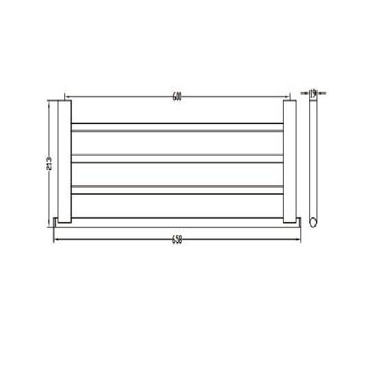Porta Sanitary Ware - MT01 Towel Rack