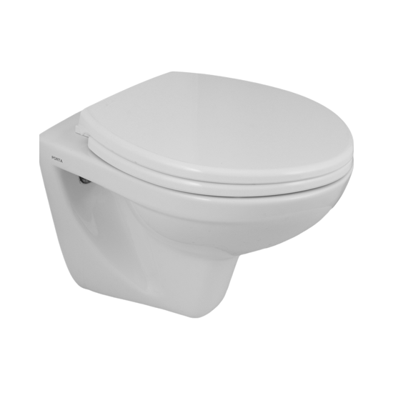Porta Sanitary Ware - HD350WH Wall Hung Commode