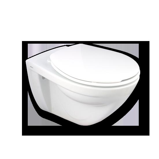 Porta Sanitary Ware - HD291WH Wall-Hung Toilet