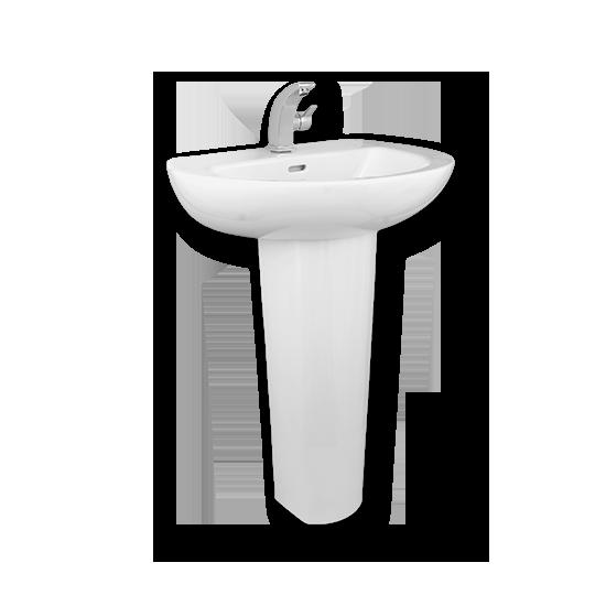 Porta Sanitary Ware - HD80 Washbasin Pedestal