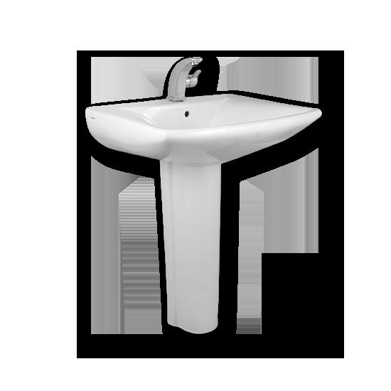 Porta Sanitary Ware - HDLP201A Washbasin Pedestal
