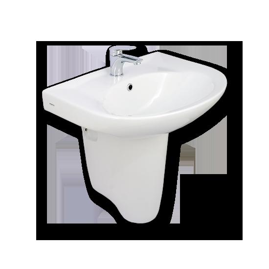 Porta Sanitary Ware - HDLP203AH Washbasin Pedestal