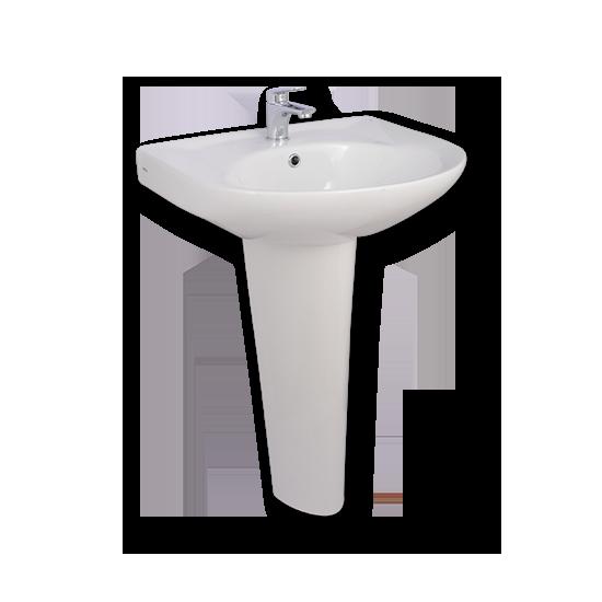 Porta Sanitary Ware - HDLP203A Washbasin Pedestal