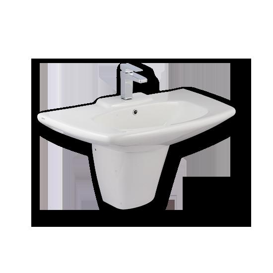 Porta Sanitary Ware - HDLP311H Washbasin Pedestal