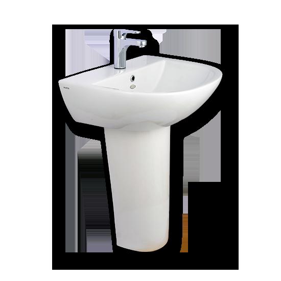 Porta Sanitary Ware - HDLP339 Washbasin Pedestal