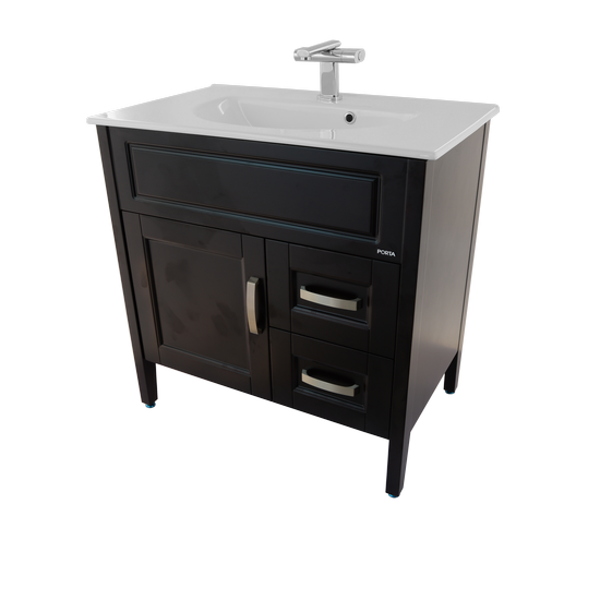 Porta Sanitary Ware - HDFL080A Wooden Cabinet