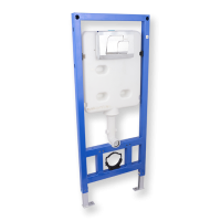 Porta Sanitary Ware - PSA88-PSF55 Concealed Cistern