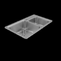 Porta Sanitary Ware - HDSC8853 Double Bowl Sink