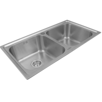 Porta Sanitary Ware - HDSC8868 Double Bowl Sink
