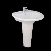 Porta Sanitary Ware - HD14A Washbasin Pedestal