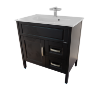 Porta Sanitary Ware - HDFL100 Wooden Cabinet